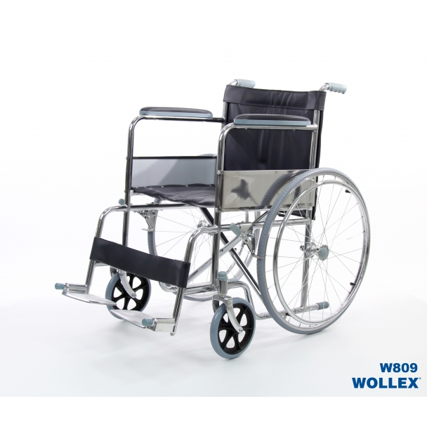 Wollex W809 Manuel Ekonomik Tekerlekli Sandalye