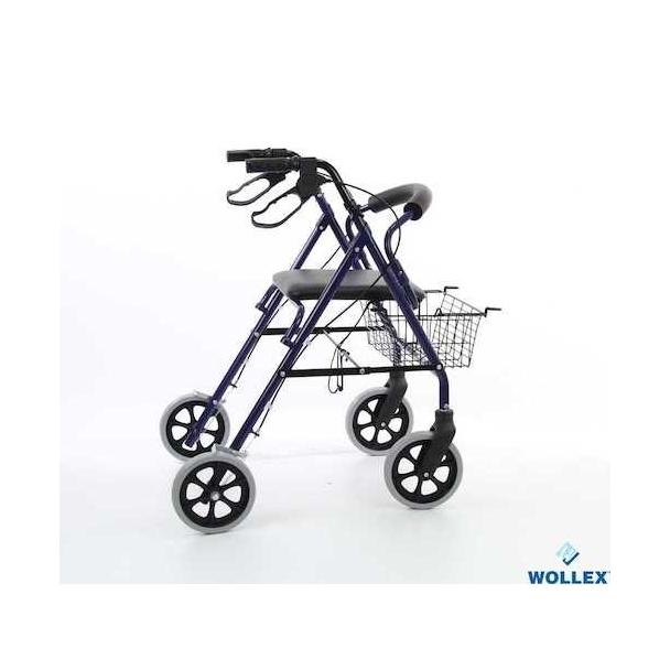 Wollex W948 Alüminyum Tekerlekli Walker -Yürüteç