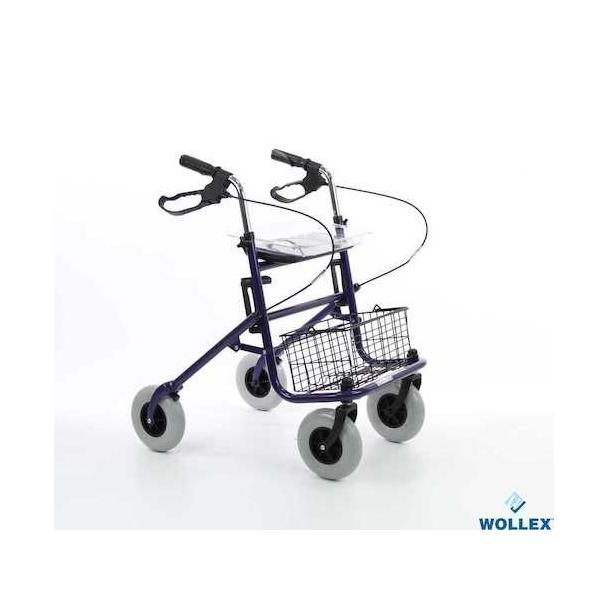 Wollex W949 Tekerlekli Walker -Büyük tekerlekli rollator